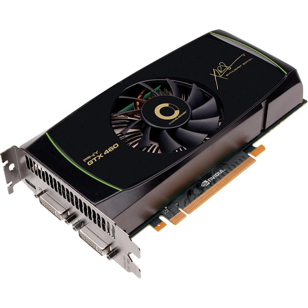 Placa video PNY XLR8 Nvidia GeForce GTX460 1GB GDDR5, 256Bit, 2x DVI-I, mini HDMI, High profile