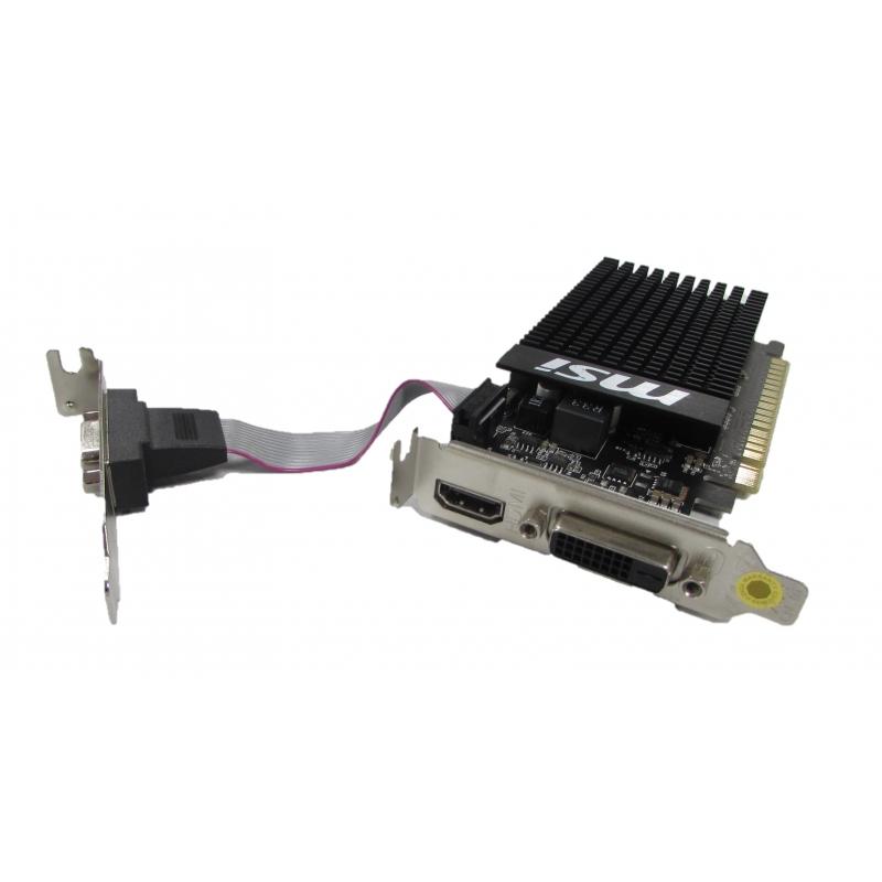 Placa video GeForce GT 710, 1GB DDR3, HDMI, DVI, VGA, Diverse modele, Low Profile