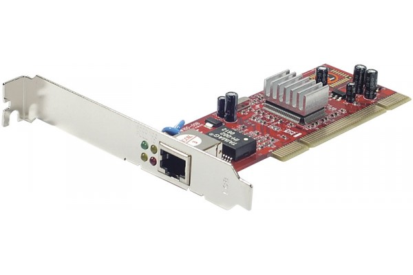 Placa de retea Noua Realtek, PCI, Full Gigabit 10/100/1000, Low and High profile bracket included, RTL8169