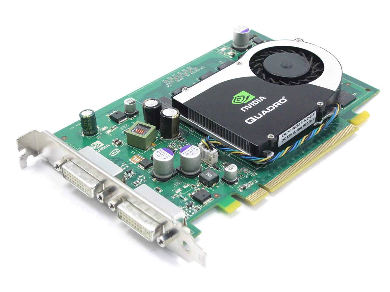 Placa video Nvidia Quadro FX 570, 256MB DDR2, 2 x DVI