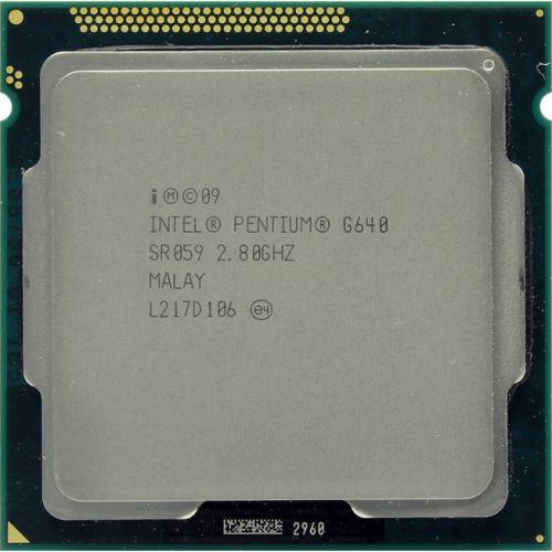 Procesor Intel Pentium Dual Core G640 2.80GHz, 3MB Cache, Socket LGA1155