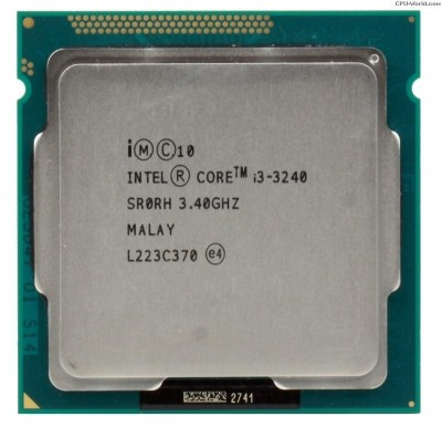Procesor Intel Core I3-3240 3.40ghz, 3mb Cache, Socket 1155