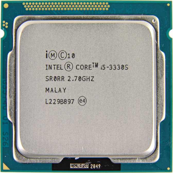 Procesor Intel Core i5-3330S 2.70GHz, 6MB Cache, Socket 1155
