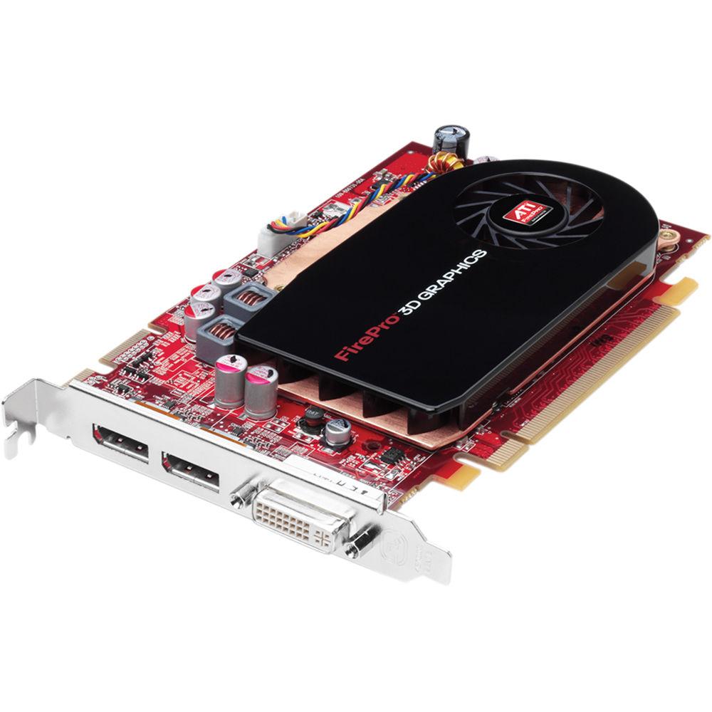 Placa video ATI FirePro V3750, 256MB, DVI, 2 x DisplayPort