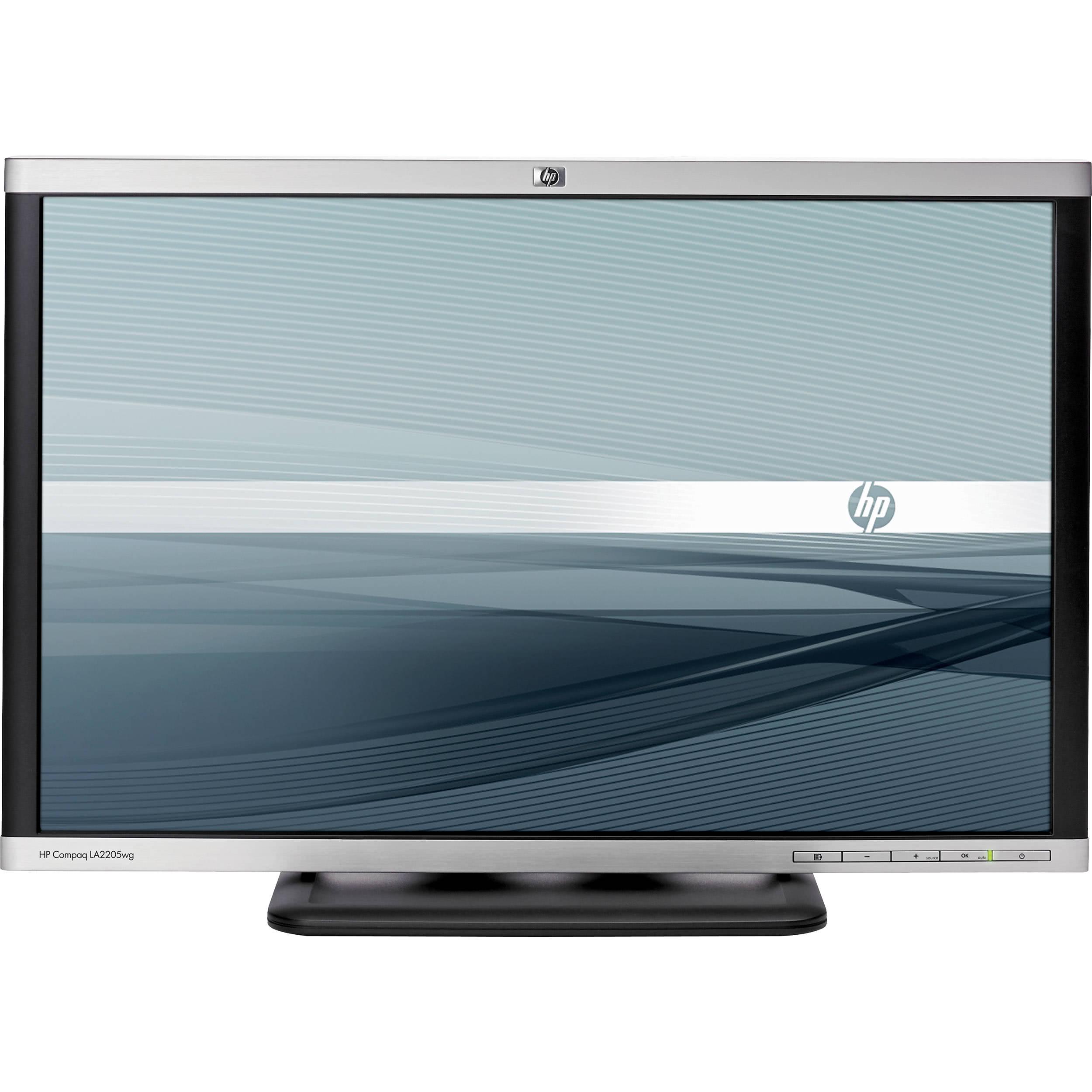 monitor hp la2205wg, lcd 22 inch, 1680 x 1050, usb, vga, dvi, widescreen, full hd, grad b