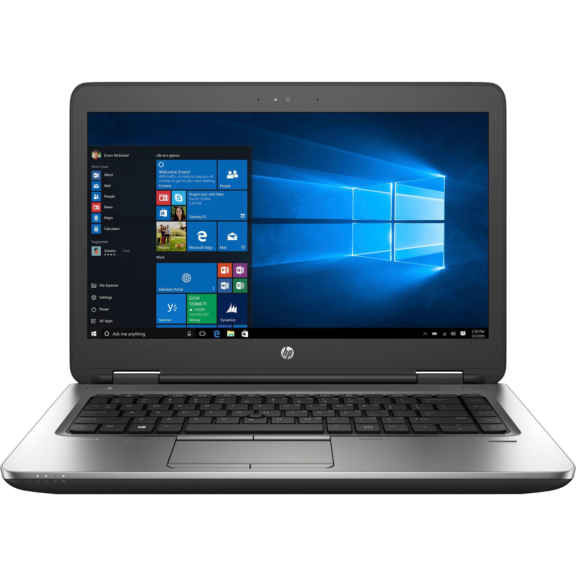 Laptop HP ProBook 640 G2, Intel Core i5-6200U 2.30GHz, 8GB DDR4, 120GB SSD, DVD-RW, Webcam, 14 Inch, Grad A-