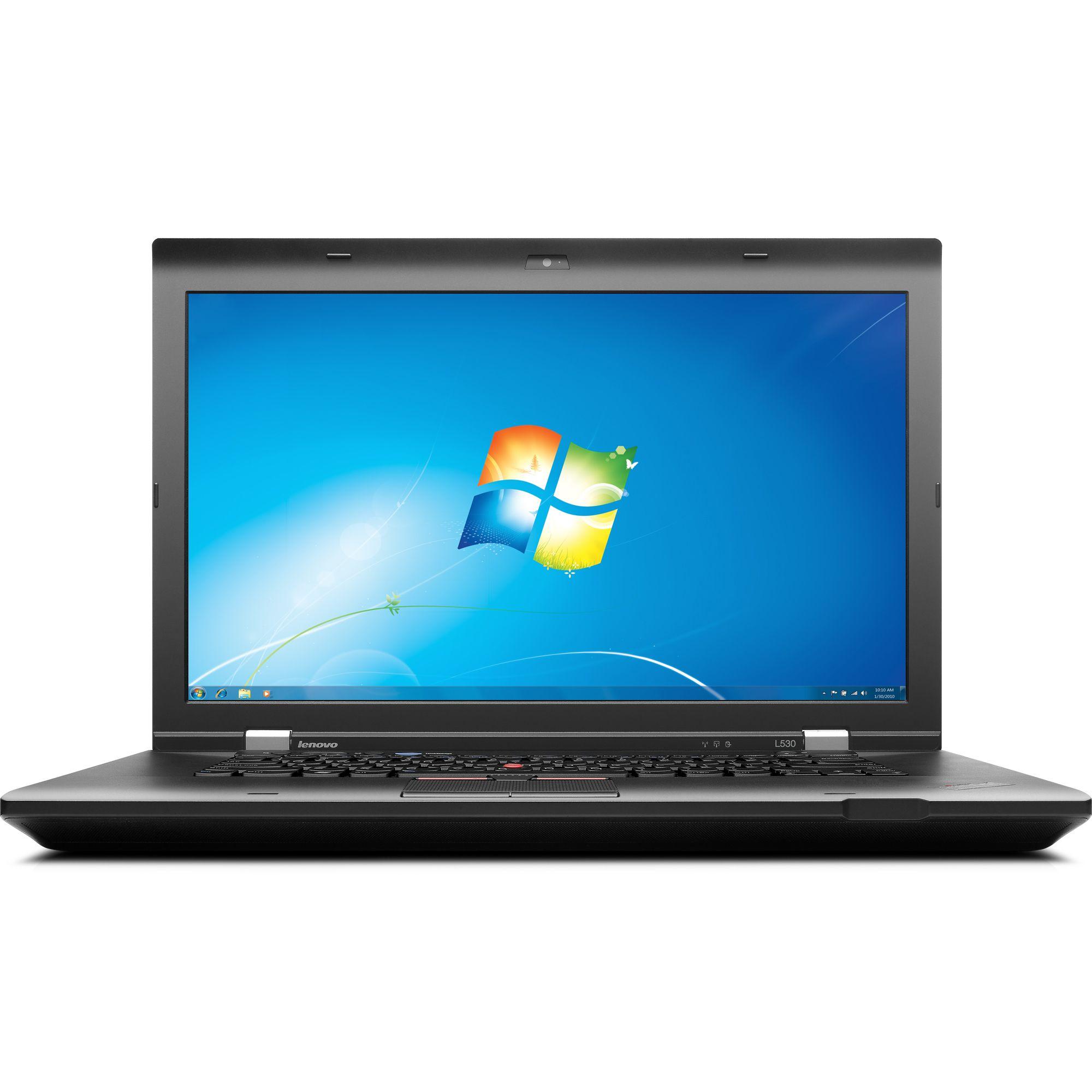Laptop LENOVO ThinkPad L530, Intel Core i3-3110M 2.40GHz, 4GB DDR3, 120GB SSD, DVD-RW, 15.6 Inch, Webcam