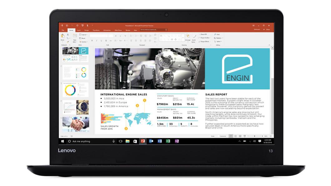 Laptop Lenovo Thinkpad 13, Intel Core i5-7200U 2.50GHz, 8GB DDR4, 256GB SSD, 13.3 Inch, Webcam, Grad B