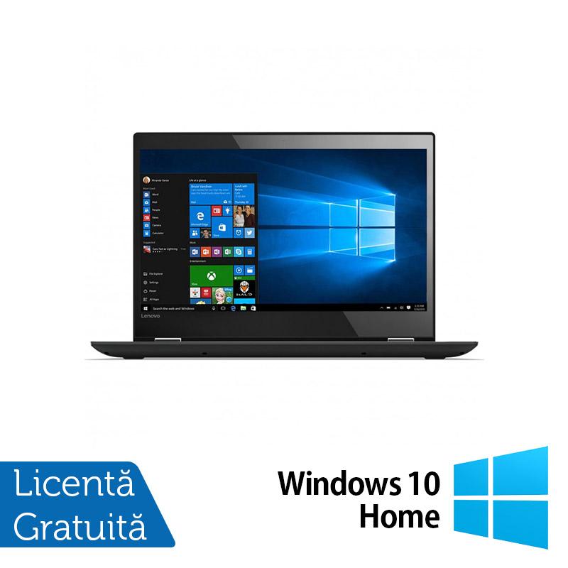Laptop Lenovo Yoga 12, Intel Core i5-5300U 2.30GHz, 8GB DDR3, 120GB SSD, Webcam, Touchscreen, 12.5 Inch + Windows 10 Home