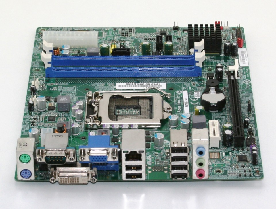Placa de baza Acer H61H2-AD, LGA1155, 2xDDR3, Ivy Bridge si Sandy Bridge, Fara Shield