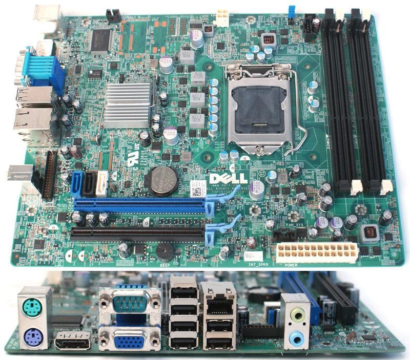 Placa de baza Dell OptiPlex 990 SFF, Model 0D6H9T, Socket 1155