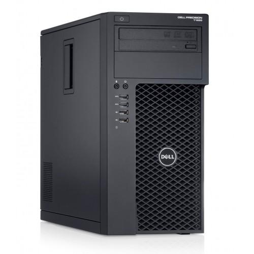 Workstation Dell Precision T1700, Intel Xeon Quad Core E3-1271 V3 3.60GHz - 4.00GHz, 8GB DDR3, 120GB SSD + 1TB SATA, nVidia Quadro K2000/2GB, DVD-RW