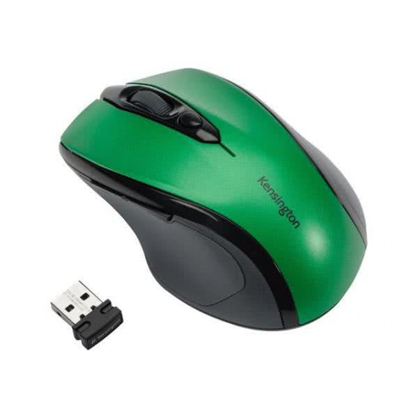 Mouse optic Wireless KENSINGTON Pro Fit Mid Size, Verde Smarald