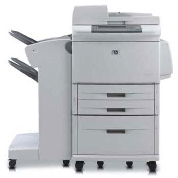 Multifunctionala Second Hand HP M9040 MFP, 40 PPM, Retea, USB, 1200 x 1200, Laser, Monocrom, A3