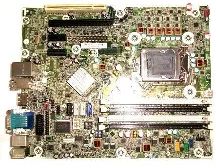 Placa de baza HP 615114-001, DDR3, SATA, Socket 1155