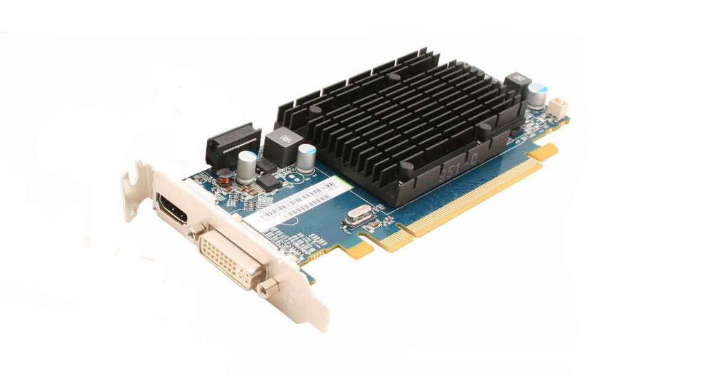 placa video diverse modele radeon hd5450, 1gb ddr3, hdmi, dvi, low profile