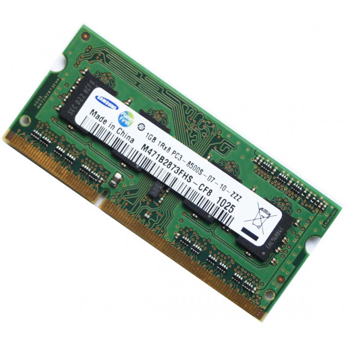 Memorie laptop SO-DIMM DDR3-1066 1GB PC3-8500 204PIN