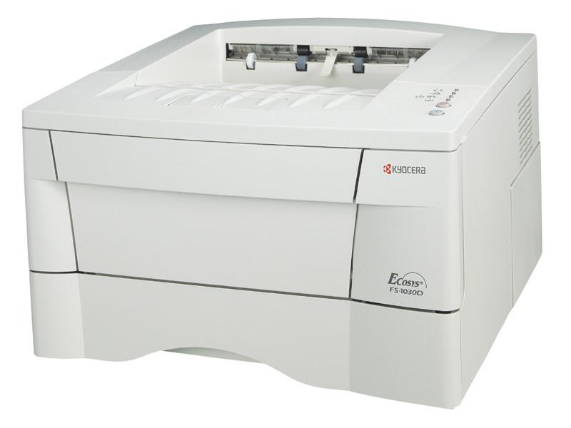 Imprimanta laser monocrom Kyocera FS-1030, 23ppm, USB, 600 x 600