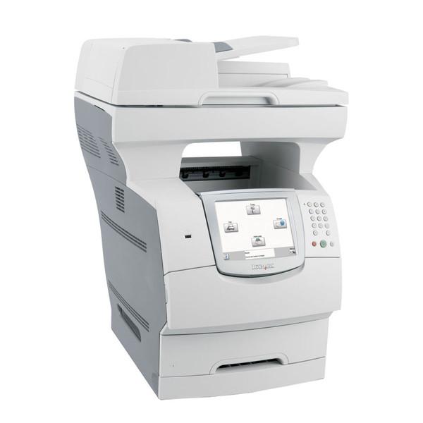 Lexmark X646, Imprimanta Laser, Copiator, Fax, Scanner, USB, Monocrom
