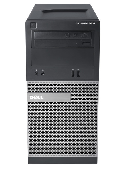 Dell OptiPlex 3010 Tower, Intel Core i3-3245 3.40Ghz, 4GB DDR3, 500GB SATA, DVD-RW