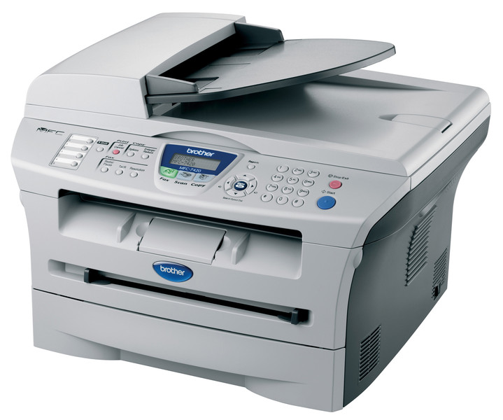 Multifunctional Laser Brother MFC-7420, Monocrom, Scanner, Copiator, Fax, USB 2.0