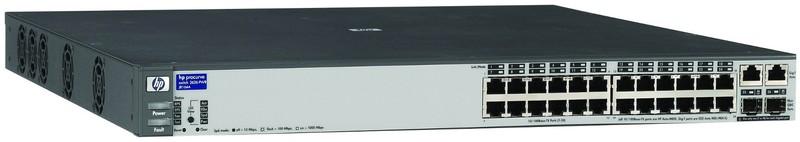 Switch HP Procurve 2626 (J4900B), 24 porturi 10/100, 2 mini- Gbic, Serial RS232