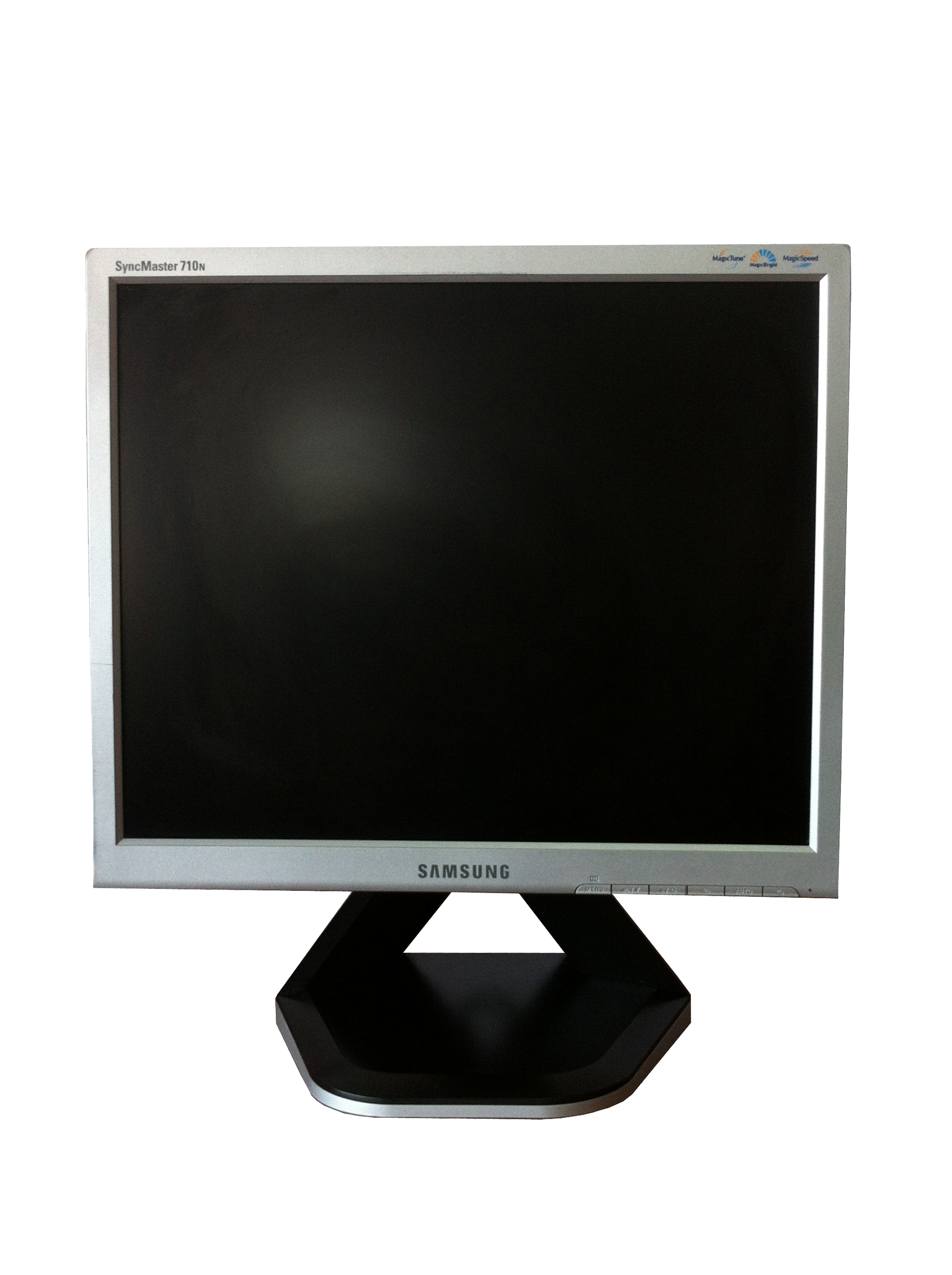 Monitor SAMSUNG SyncMaster 710N, LCD, 17 inch, 1280 x 1024, VGA, Grad A-, Fara Picior