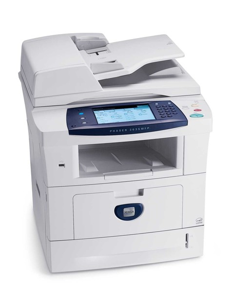 multifunctionala xerox 3635 mfp, laser monocrom, retea, usb, copiator, touch screen, duplex, imprimare, copiator, scaner