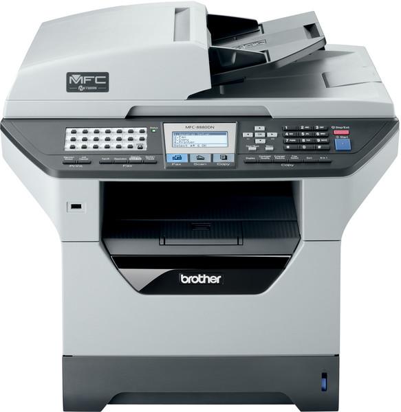 Imprimanta Multifunctionala Brother MFC-8880DN, Duplex, retea, USB, Scaner, Copiator, Fax