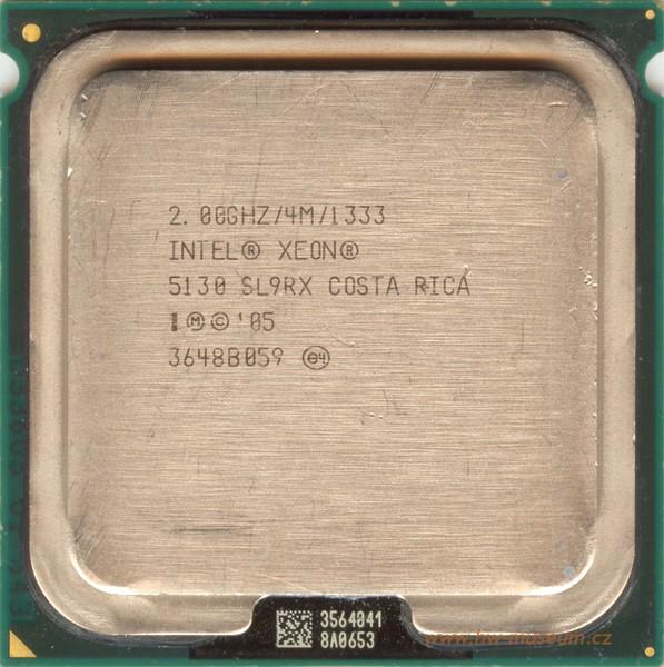 procesor intel xeon dual core 5130, 2000mhz, 64-bit, socket lga771, 1333mhz fsb