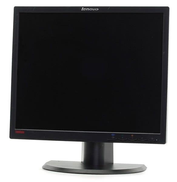 monitor lenovo thinkvision l1900p, lcd, 19 inch, 1280 x 1024, 5ms, vga, dvi, fara picior, grad a-