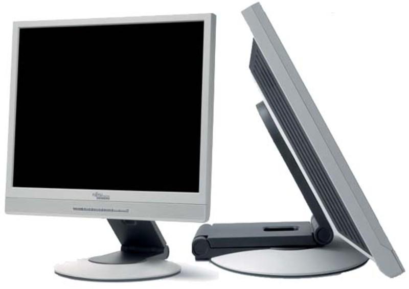 Monitor LCD Fujitsu ScenicView P20-2, 1600 x 1200, 20 inch, DVI, VGA, Fara Picior