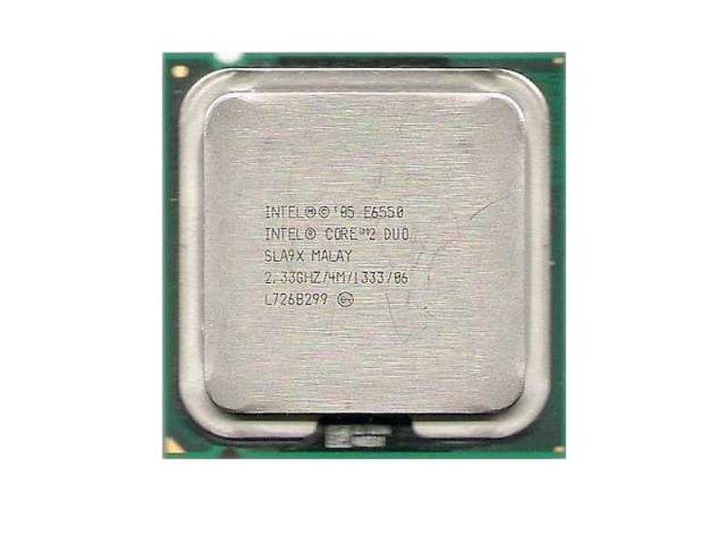procesor intel core2 duo e6550, 2.33ghz, 4mb cache, 1333 mhz fsb