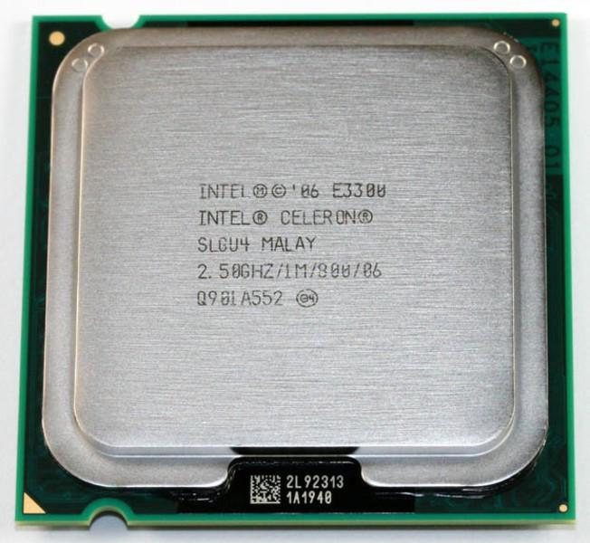 procesor intel celeron e3300, 2.5ghz, 1mb cache, 800 mhz fsb