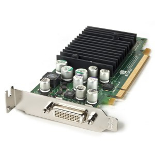 placa video pci-e nvidia quadro nvs 285, 128 mb/ 128 bit, dms-59, low profile design