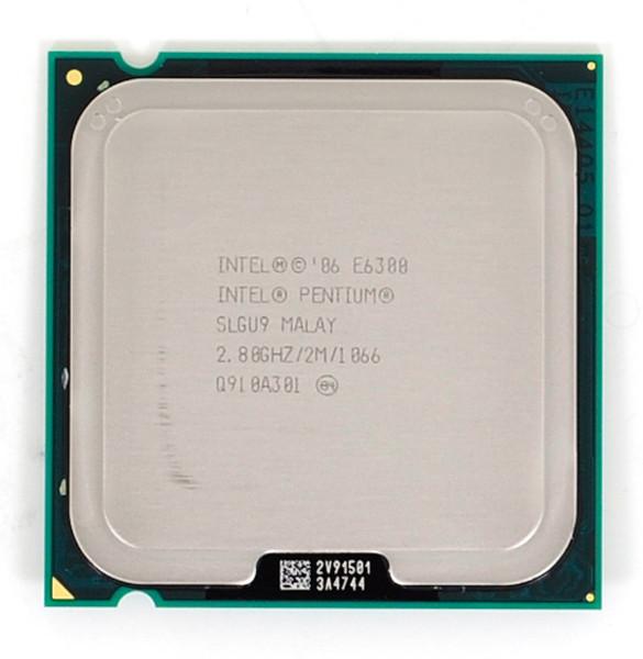 procesor intel pentium dual core e6300, 2.8ghz, 2mb cache, 1066 mhz fsb