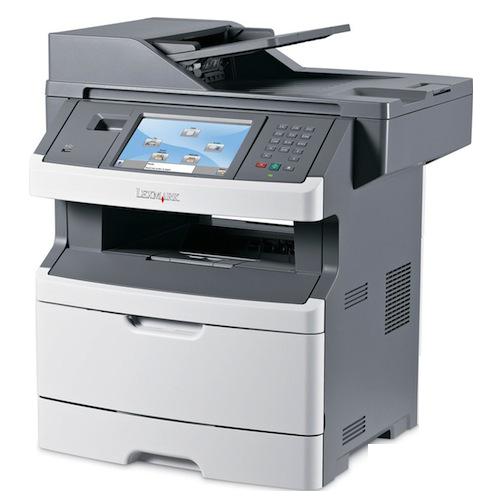 multifunctionala second hand laser monocrom lexmark x466de, imprimanta, copiator, scanner, fax, usb 2.0, retea, duplex