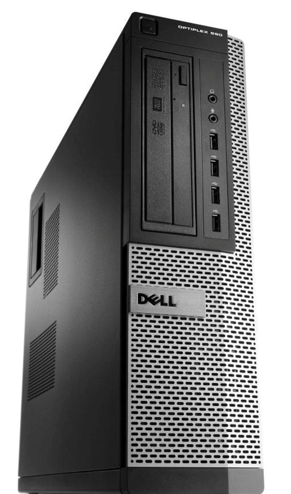Calculator Dell OptiPlex 990 Desktop, Intel i7-2600 3.40GHz, 8GB DDR3, 500GB SATA, DVD-ROM