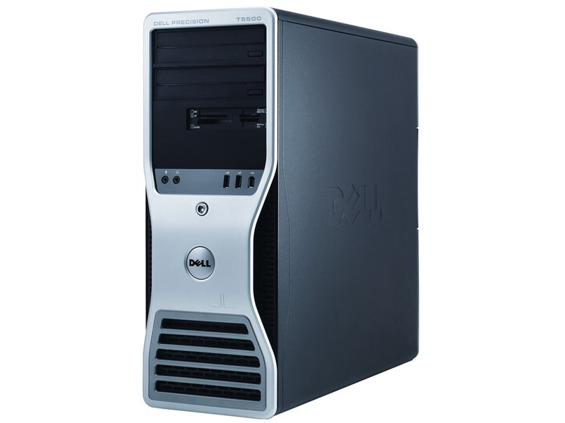 Workstation Dell T5500, Intel Xeon E5645 Hexa Core 2.4GHz, 12GB DDR3, 320GB, Video ATI FirePro 2260, DVD-RW