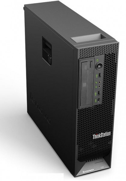 workstation lenovo thinkstation c20, intel xeon e5640 2.66ghz, 12gb ddr3,250gb sata, dvd-rw