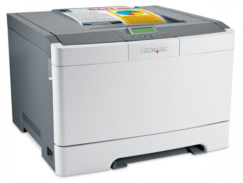 imprimanta laser color lexmark c544dn, retea, usb, 21ppm