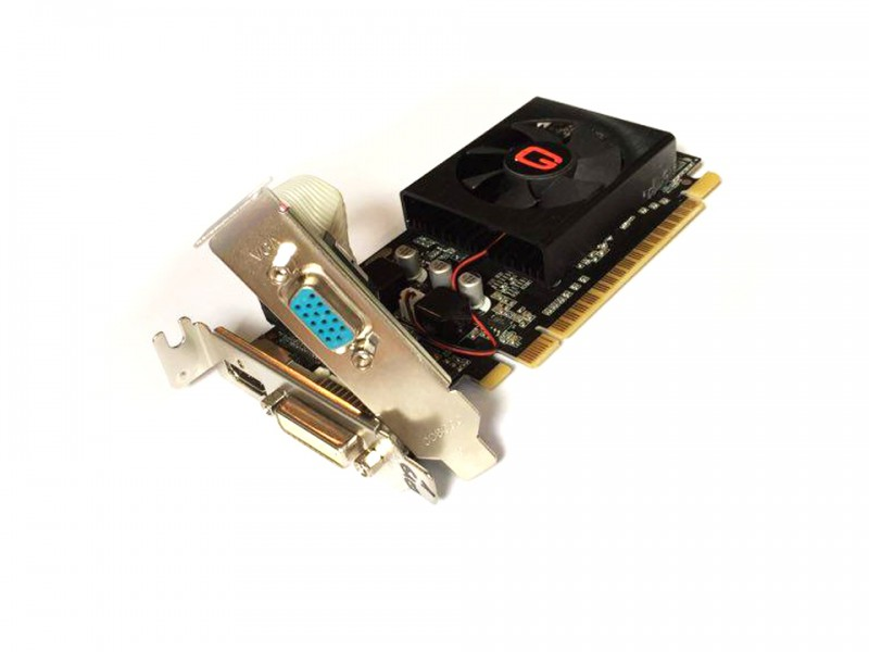 placa video pci-e geforce gt610 1gb gddr3, vga, dvi, hdmi, diverse modele