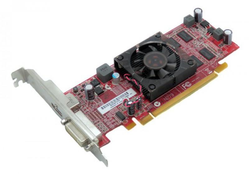Placa video PCI-E AMD Radeon HD5450, 512 MB DDR3, DVI, Display Port, 109-C02637-00D FRU89Y6151
