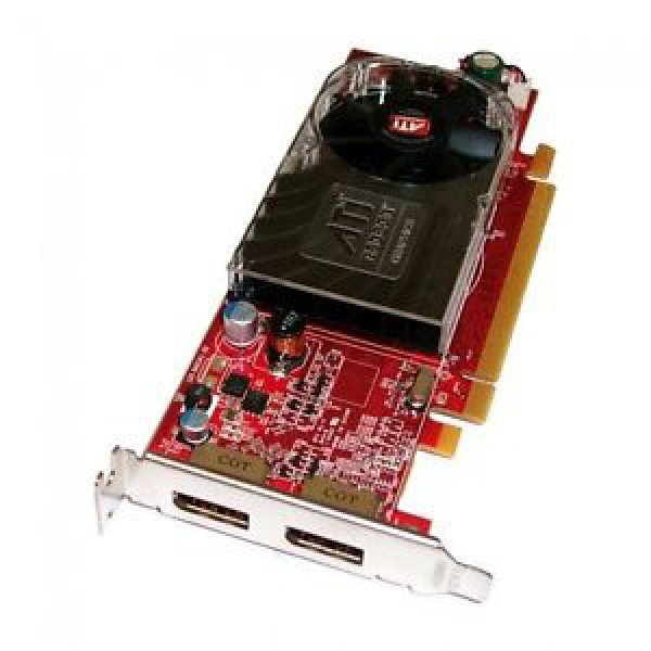 placa video pci-e ati radeon hd 3470, 256 mb, 2 x display port, sh, low profile design