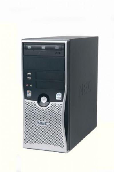 Calculator NEC Powermate VL280 Tower, Intel Dual Core E2220, 2.40GHz, 4GB DDR2, 320GB SATA, DVD-RW