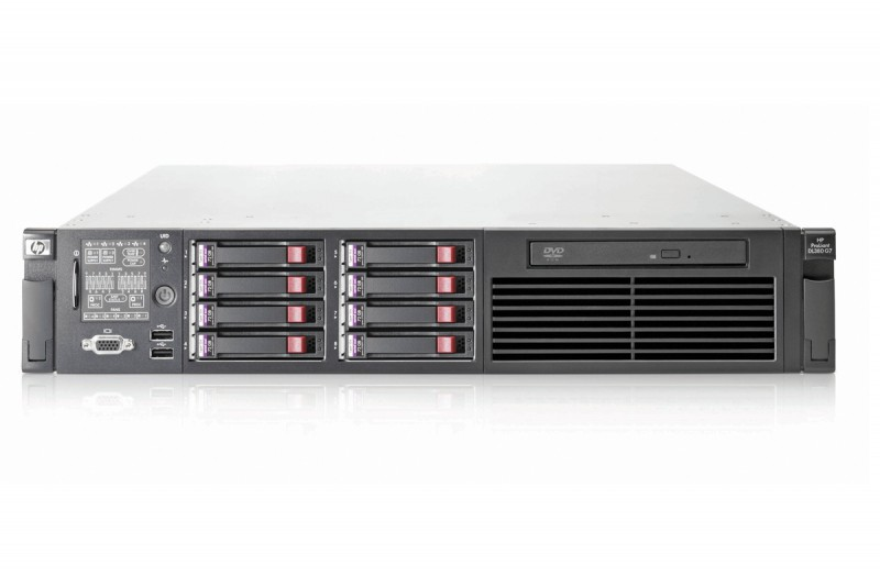 server hp proliant dl380 g7, 2x intel xeon quad core e5620 2.40ghz-2.66ghz, 128gb ddr3 ecc,2 x 600gb sas/10k + 4x 900gb sas/10k, raid p410i/256mb, 2x surse hs