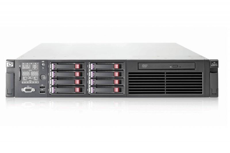 HP Proliant DL380 G7, 2x Intel Xeon Hexa Core E5649 2.53GHz-2.93GHz, 12Gb DDR3 ECC, 2x 146Gb SAS, RAID P410I/512MB, 2x Surse HS