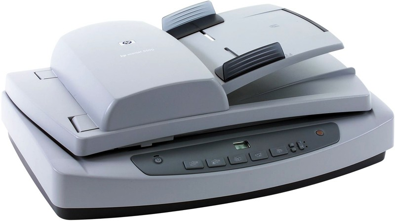 scaner hp scanjet 5590 digital flatbed scanner, adf, 2400 x 2400 dpi, usb