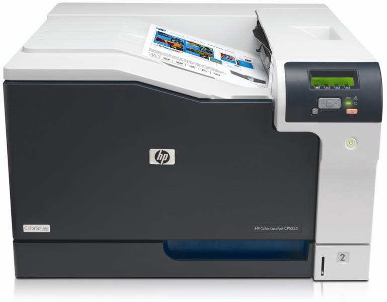 Imprimanta HP LaserJet Professional CP5225N, 20 ppm, 600 x 600 DPI, Duplex, A3, Color