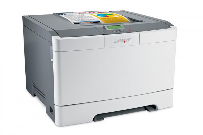 Imprimanta LEXMARK C543DN, 21 PPM, Duplex, Retea, USB, 1200 x 1200, Laser, Color, A4